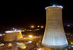 The world's tallest cooling towers are being built at the Kalisindh Thermal Power Plant at Jhalawar in Rajasthan, India. The first tower was completed in June 2012. These 202m tall towers are taller than the cooling towers in Niederaussem, Germany which have now been pushed to the second place.