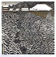 Ray Morimura | Kiyomizu-dera in Snow, 2008 | ed. 65, 45 x 45 cm
