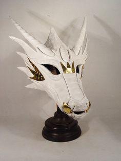 Sid Wilson Slipknot second mask. Dragon Armor, Dragon Mask, Dragon Head, Diy Dragon Costume, Kitsune Mask, Dragon Sketch, Skull Mask, Leather Mask, Cool Masks