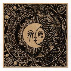 #illustration #art #stickers Madame Sunnymoon
