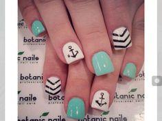 Boat Anchor Designed Nails