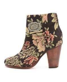 Rag and Bone canvas tapestry boots.   Happy feet.