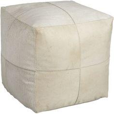 """pony up cream pouf pony up cream pouf. 18""""Wx18""""Dx18""""H"""