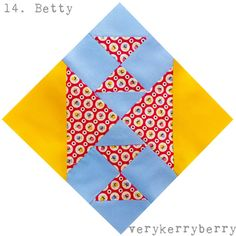 verykerryberry: Farmer's Wife QAL Blocks 13 & 14: Belle and Betty