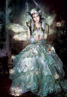 Bored fairy princess.