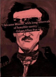edgar allan poe for the moon never beams without bringing me dreams | Edgar Allan Poe Quotes (Images)