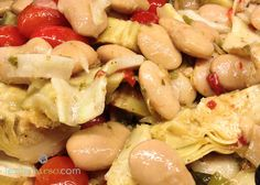 Italian Gigante Bean Salad!