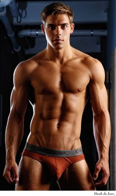 Chris Campanioni in fashion briefs | #guys #underwear #model