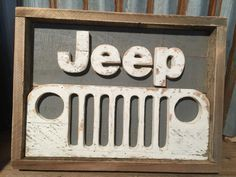 Rustic Pallet Jeep Decor Ready to ship Jeep Sign by R2KPallets