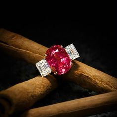 Impressive Ruby and Diamond Ring