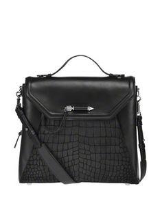 MACKAGE Bookie Leather Backpack
