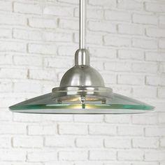 Kichler Galaxie Brushed Nickel Mini Pendant Chandelier - #41021 | Lamps Plus