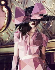 http://www.behance.net/gallery/Fashion-with-Cubic-Forms/2364442    A combination between photography and design. stunning!