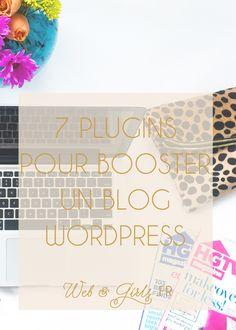 7 #plugins pour booster un #blog #WordPress