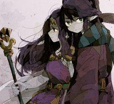 The Legend of Zelda: A Link Between Worlds, Princess Hilda and Ravio.
