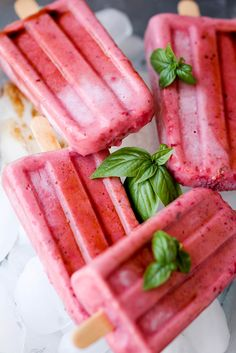 Balsamic Roasted Strawberry Popsicles recipe - 4 Ingredients, Easy ...