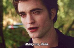 Marry me Bella. End of New Moon