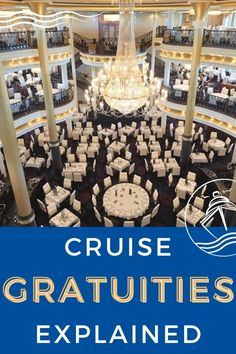 Cruise Gratuities Explained - In this latest guide, we explain everything you need to know about cruise gratuities for each cruise line including the costs. #cruise #cruisetips #cruiseplanning #eatsleepcruise