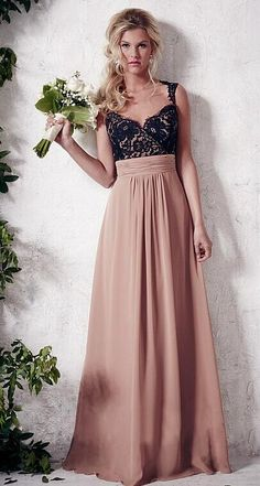 29 Best Two Tone Bridesmaid Dresses Images