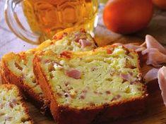 Cake au cheddar, au jambon, à la bière, et à la moutarde - Recettes