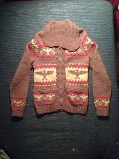 Vintage Small Unique One of a Kind Cowichan Sweater by boobooretro, $68.00