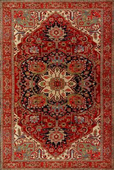 Antique Serapi Rug - 980706 - First Rugs Persian Carpet, Persian Rug, Affordable Rugs, Rustic Rugs, Braided Rugs, Contemporary Area Rugs, Red Rugs, Woven Rug, Handmade Rugs