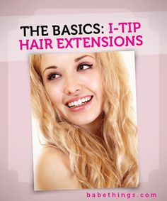 How I-Tip hair extensions work