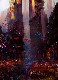 'Survivor Shanghai 2173: The Arrival' by SufjanJimmy-H-Brook