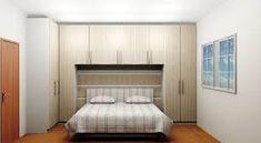 Resultado de imagem para armário com cama embutida