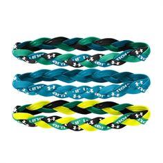 Under Armour® 3-Pack Braided Headband Logo #VonMaur #UnderArmour #HairAccessories