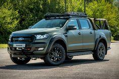 2019 Militarized Ford Ranger By Ricardo Chevrolet Trucks, Chevrolet Impala, Ford Trucks, Pickup Trucks, 1957 Chevrolet, Lifted Trucks, Ford Ranger Truck, 2019 Ford Ranger, 6x6 Truck