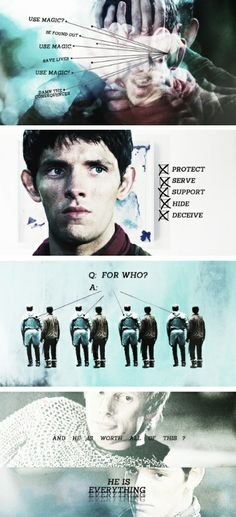 ALL the Merlin feels!