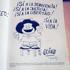 #Mafalda y la #Libertad