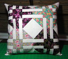 """Pillow cover stuffed with an 18"""" pillow form."""