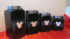 Mickey Mouse canister set - Google Search