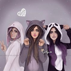 Fatima zahra+hanan+zineb