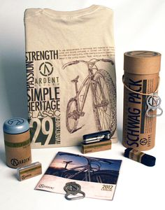 Ardent Cycles by Jeremy Teff, via Behance
