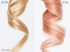 To achieve Rose Gold, you need to start with a medium blonde color. Description from overtone.co. I searched for this on bing.com/images