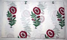 New Hand Block Print Pure Cotton Fabric New Floral Sanganeri Running Fabric #Handmade
