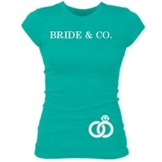 Shirts and tanks for bachelorette parties