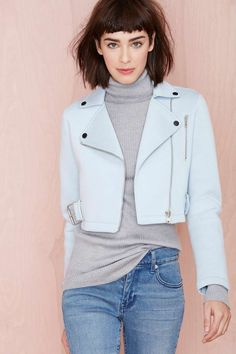 Out of the Blue Moto Jacket