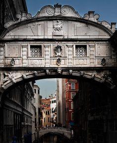 The Bridge of Sighs - Venice, Italy