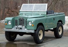 Restored Series IIA on a coil-spring chassis