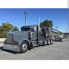 Kenworth custom W900L heavy haul