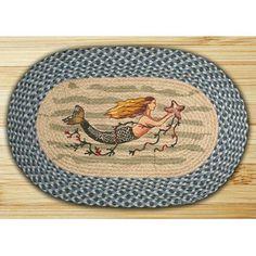 Found it at Wayfair - Earth Rugs Mermaid Novelty Rug Wish List for Christmas...