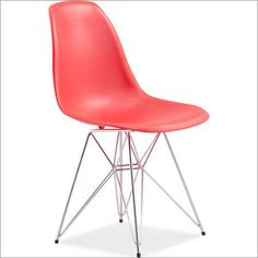 Zuo Modern Spire Dining Chair in Red