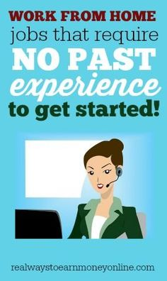 Do you need a work from home job, but you're lacking in experience? Here is a massive list of companies that hire for work from home that may give you a change -- experience or no.