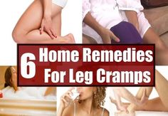 6 Home Remedies For Leg Cramps