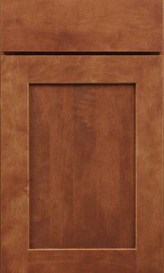 Waypoint Living Spaces cabinet door   Style 650 in Maple Cognac