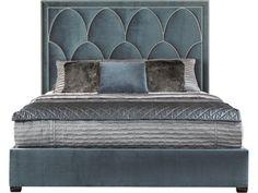 Bernhardt Interiors Regan Upholstered King Bed 372-HFR66